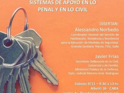 Conferencia Basaglia Argentina organizza un seminario su salute mentale e giustizia