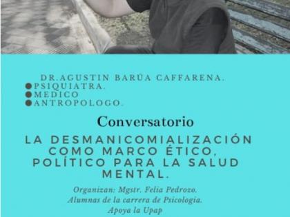 In Paraguay un Convegno sulla demanicomializzazione con lo psichiatra Agustin Barúa Caffarena
