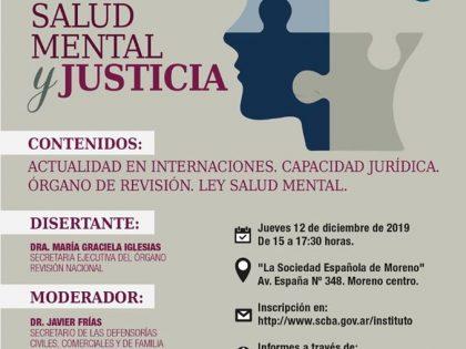 Conferencia Basaglia Argentina promuove una giornata di formazione sui temi della salute mentale e giustizia