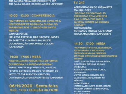 """Il 4° seminario internazionale sulla """"epidemia di psicofarmaci"""""""