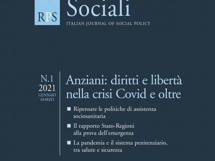 Anziani, diritti e libertà nella crisi covid e oltre: online il nuovo numero di RPS